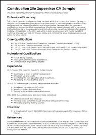 Construction Resume Sample Sufficient Photos For Collection Of