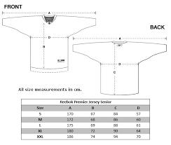 Nike Youth Hockey Jersey Size Chart 48 Logical Ccm Hockey Jersey Sizing Chart