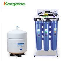 Máy lọc nước RO không tủ bán công nghiệp KANGAROO KG-400 (8 cấp lọc)