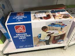 valuable design step2 deluxe art master desk with chair only 49 99 at toys r us