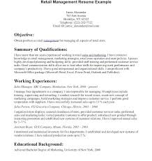 Manager Resume Examples Adorable Retail Manager Resume Examples Retail Manager Resume Examples Sample