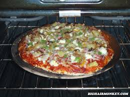 How To Cook A Pizza Pizza Night A Bighair Monkey