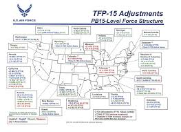 Usaf Org Chart 2015 Air Force To Eliminate Nearly 500 Aircraft In 25 States