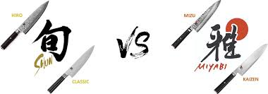 Kitchen Knife Comparison Chart Shun Vs Miyabi Epic Compare Of The Best Japanese Kitchen Knives