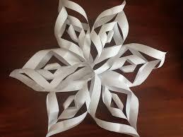 paper snowflakes 3d make a 3d paper snowflake 3d paper snowflakes paper snowflakes