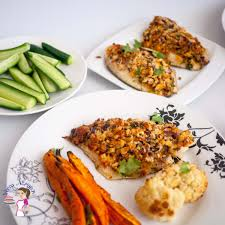 breadcrumb crusted baked fish fillets