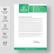 Letterhead Samples Free Download Professional Creative Letterhead Template Free Download