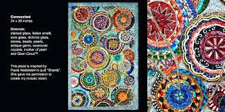 glimmer glass mosaics wall art mosaic sea