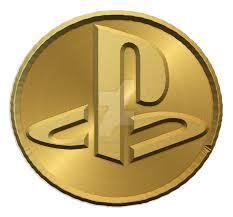 Custom Playstation Logo - wip 01 - Gold Coin Edit. by ...