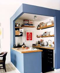 Kitchen Rustic Small Space Design Ideas With Rectangle Cool Simple