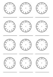 Es ist ein sehr einfacher vorgang und der designer ist leicht zu bedienen. Uhrzeit Lernen Grundschule Zifferblatt Ausdrucken