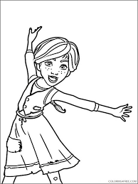 The easiest way to find printable coloring page! Ballerina Coloring Pages Printable Coloring4free Coloring4free Com