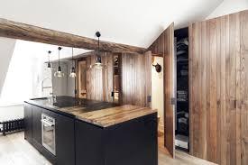 Open Keuken Loft Minimalistische Loft Woonkamer Met Stoere Open