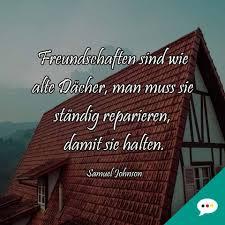 Samuel Johnson Freundschaften Spruch Deutsche Sprüche Xxl
