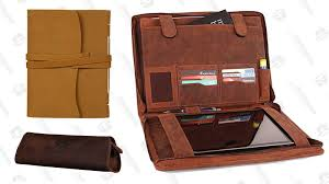 leather journals gold box