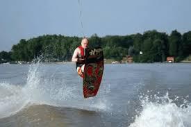 What is kneeboarding?