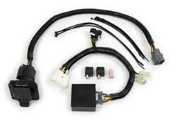 honda pilot trailer wiring com t one vehicle wiring harness for factory tow package 7 way trailer connector