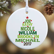 Buy Personalized Family Tree Christmas Ornaments. Add your family names and  a photo - Free personalization! See more Personalized Christmas Ornaments  at ...