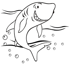 Small Picture 55 Shark Shape Templates Crafts Colouring Pages Free