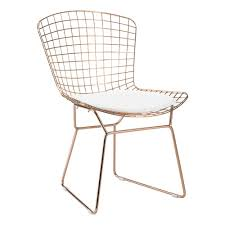 white wire chair. Modren White ZUO White Mesh Wire Outdoor Chair Cushion With I