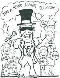 Small Picture No Bullying Coloring Pages Inside Anti creativemoveme