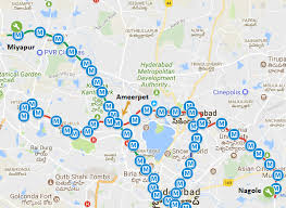 Metro Train Fares Chart In Hyderabad L Tmrhl Announces Hyderabad Metros Fares Smart Card