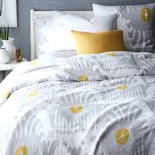grey and yellow duvet set grey and yellow striped duvet cover linen bedding west elm grey and yellow bedding sets canada