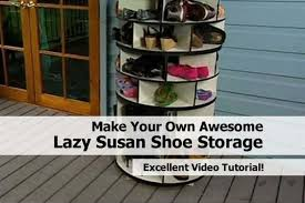 lazy susan shoe rack for beautiful how to and organize shoes in a closet home of marvelous 18