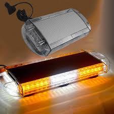 Led Warning Lights For Trucks Hehemm 48w Led Car Roof Strobe Lamp Magnetic Mounted Warning Light Bar For Emergency Vehicle 12v 24v Car Led Lights Car Led Strobe Lights From