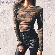 <b>Hot New</b> 2019 Summer autumn Womens Long Sleeve <b>Sexy Camo</b> ...