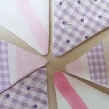 Laura Ashley Personalised Hand Made Bunting
