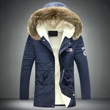 hooded coat mens winter coat men black puffer