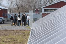 clifton springs basks in solar power news canandaigua ny