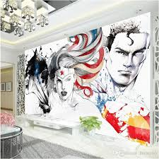 superman wallpaper barman 3d marvel comics wall mural justice league photo wallpaper kid bedroom super hero wall covering cartoon room decor wallpapers en  on marvel comics mural wall graphic with superman wallpaper barman 3d marvel comics wall mural justice league