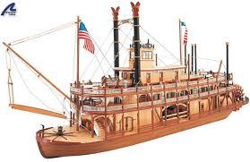artesania latina king of the mississippi wooden ship model kit 20505 8421426205053 b0000eszut
