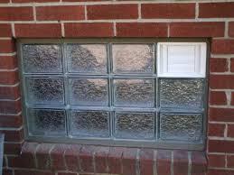 image of cool glass block basement windows