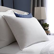 Pacific Coast Hotel White Goose Down Luxury Pillow 230 Thread Count 550  Fill Power Down Machine