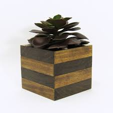 office planter boxes. Large Wood Succulent Planter Modern Cube Plant Holder Wooden Indoor Garden Box Office Cactus Rustic (18.00 USD) By Boxes