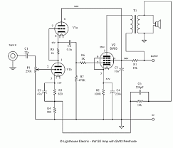 4 watt single ended vacuum tube amplifier audio 2 4 watt single ended vacuum tube amplifier circuit diagramelectronic