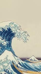 wave art hokusai painting classic art ...