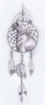 howling wolf drawing tattoo.  Howling Dream Catcher Drawings  Howling Wolf Dreamcatcher By Frostdanger  Traditional Art  For Howling Wolf Drawing Tattoo
