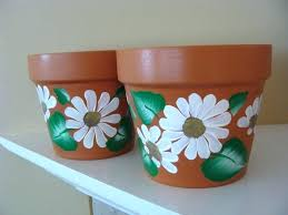 painted plant pots painted plant pots delectable accessories for garden decoration using hand painted plant pots painted plant pots