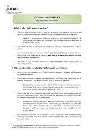 apr workshop m e tg key informant interviews