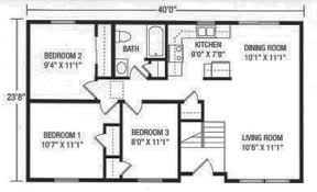 U and U Modular Homes   Raised Ranch FloorplansEssex   Plan