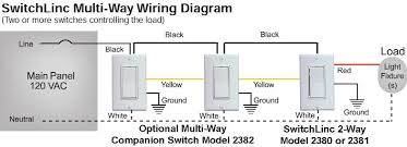 switchlinc 2 way 2-Way Switch Circuit Diagram at Insteon 2 Way Switch Wiring Diagram