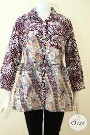 Kombinasi dibagian tangan batik sangat cocok membuat batik ini terlihat berbeda. Model Baju Batik Wanita Lengan Panjang Toko Batik Online 2021