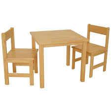 table 2 chairs. rubberwood table with 2 chairs