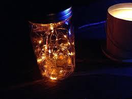 lighting jar. Picture Of Mason Jar LED Lantern Fairy Lights Lighting W