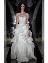 kleinfeld designer series an interview reem acra blog you were first discovered as a designer by wearing a dress you made from your mother s dining room tablecloth what inspired you to create a dress from that