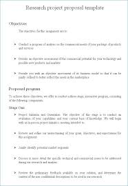 Collection Of Solutions Research Proposal Example Doc Spectacular ...